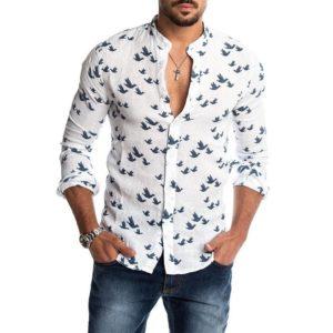 Pánská stylová košile Leo