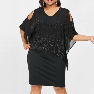 Dámské luxusní plus size šaty Lorena