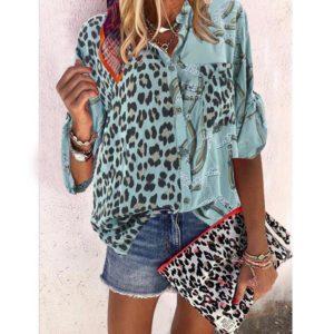 Dámská leopardí košile Tiffany