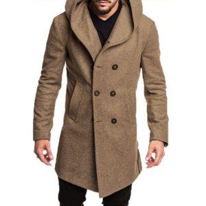 Pánský luxusní podzimní kabát Handing