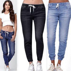 Dámské moderní denim džíny