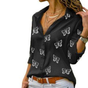 Dámská stylová halenka Butterfly