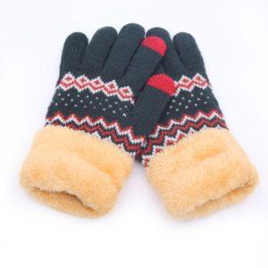 Dámské zimní stylové rukavice Serrano