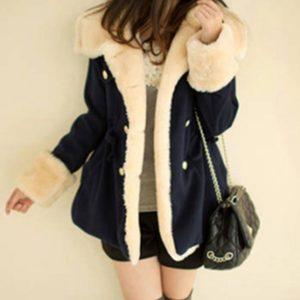 Dámská luxusní zimní bunda s kožíškem Andy