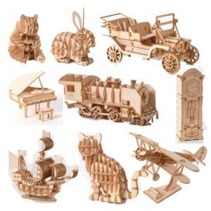 3D dřevěná stavebnice Willis
