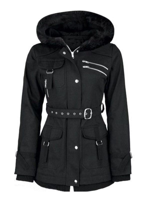 Dámský luxusní zimní kabátek Aine