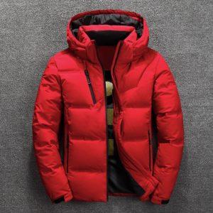 Pánská stylová prošívaná zimní bunda David