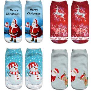 Dámské stylové vánoční ponožky Corissa