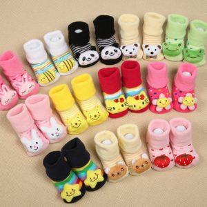 Protiskluzové boty pro nejmenší Mimi