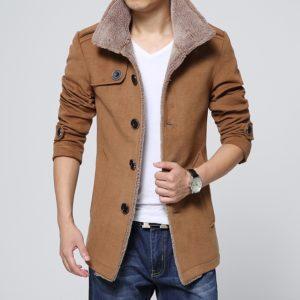 Pánský luxusní zimní kabát Werner