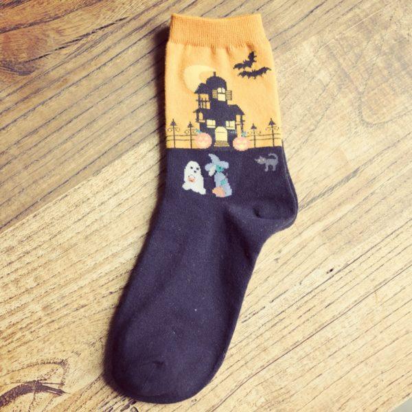 Dámské trendy zateplené ponožky Anil