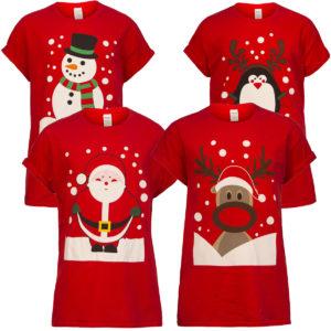 Stylové vánoční tričkso Wilke