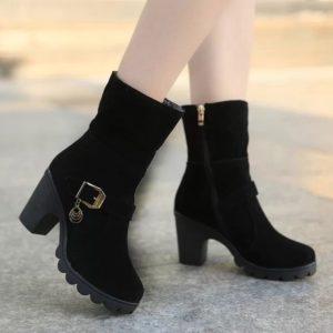 Dámské stylové zimní boty Lena