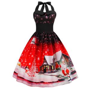 Vánoční dámské šaty Charly