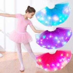 Dívčí LED sukně