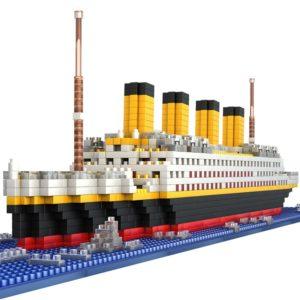 Dětská stavebnice Titanic - 1860 Ks