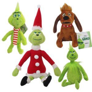 Vánoční plyšová hračka Grinch