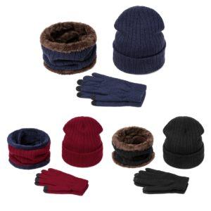 Zimní set čepice, nákrčník a rukavice