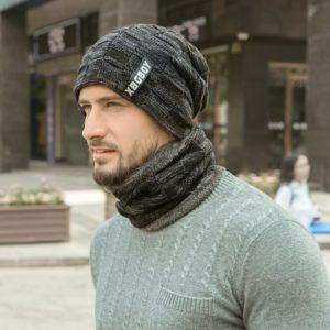 Pánská zimní čepice s nákrčníkem Jay