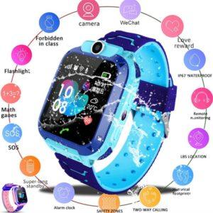 Dětské vodotěsné chytré hodinky Jacobs
