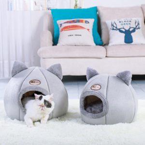 Luxusní teploučký pelíšek pro kočky a koťátka Kitty