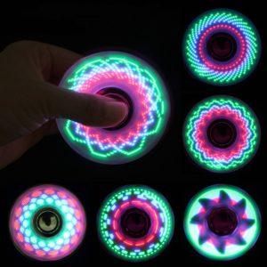 Svítící Fidget spinner