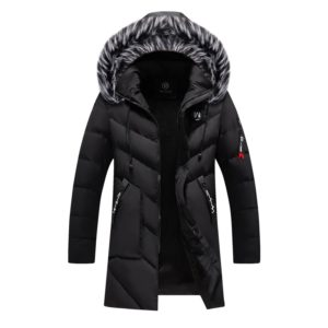 Pánská módní zimní bunda s kožíškem Antony
