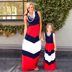 Set šatů pro matku a dceru