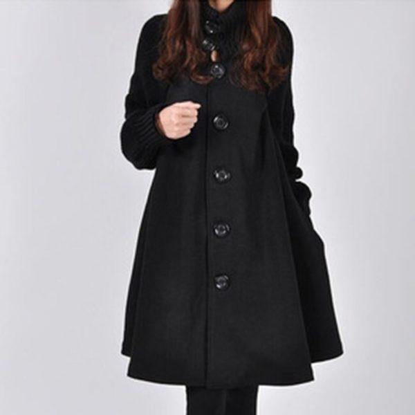 Dámský luxusní zimní kabát Mia