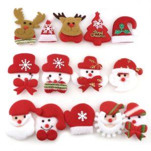 Vánoční ozdoby na stromeček - 10 Ks