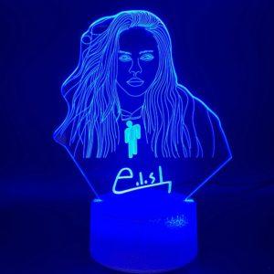 Stylová stolní lampa Billie