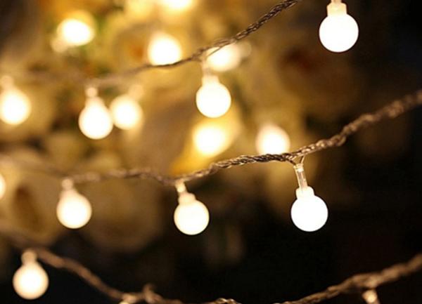 Světelný řetěz - Žárovky