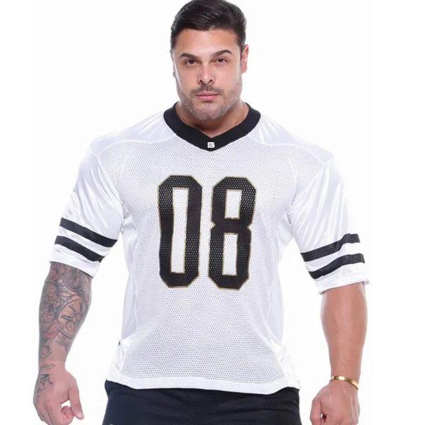 Pánské stylové fitness triko s potiskem Ross
