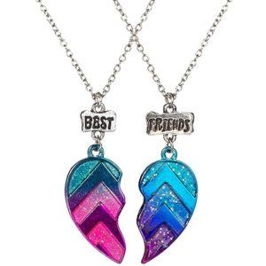 Barevný náhrdelník- nejlepší přátelství