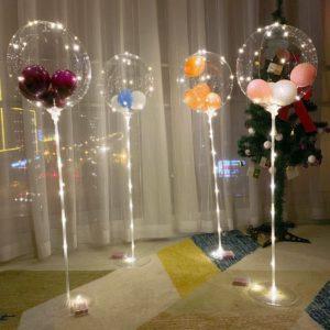 LED svítící dekorace- balonky