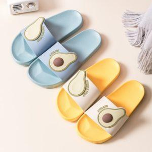 Dámské trendy gumové pantofle Avocado