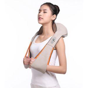 Multifunkční masážní přístroj na krk a ramena