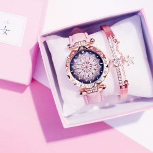 Dámský set hodinky + náramek Star