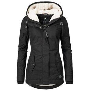 Krásná zimní teplá bunda Nero