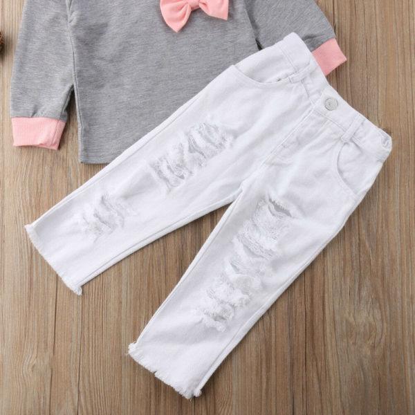 Dívčí roztomilý set - mikina a kalhoty