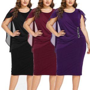 Dámské plus size šaty Nina