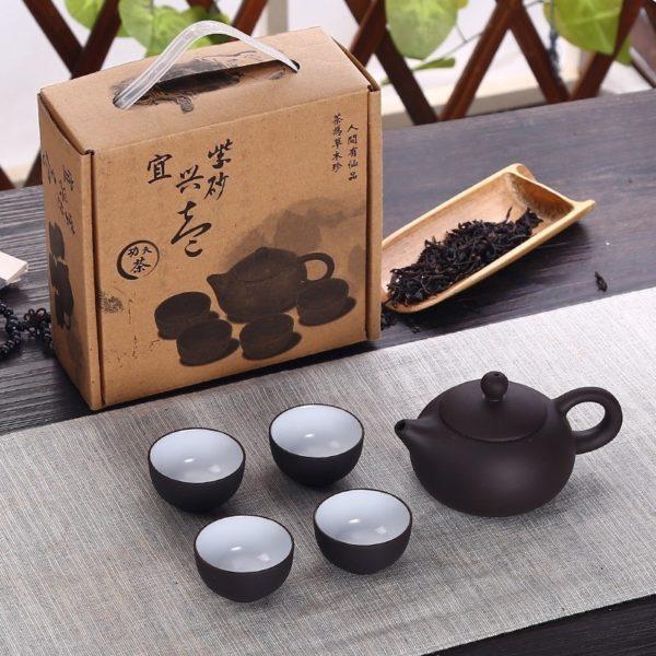 Tradiční čínská čajová sada 5 ks