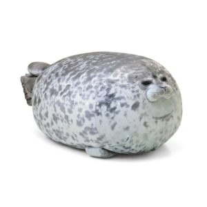 Roztomilý plyšový tuleň - spací polštář
