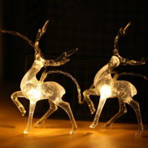 Vánoční LED dekorace - sob