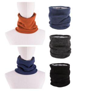 Pletený zimní nákrčník