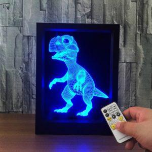 Dekorace - 3D stolní lampa pro děti