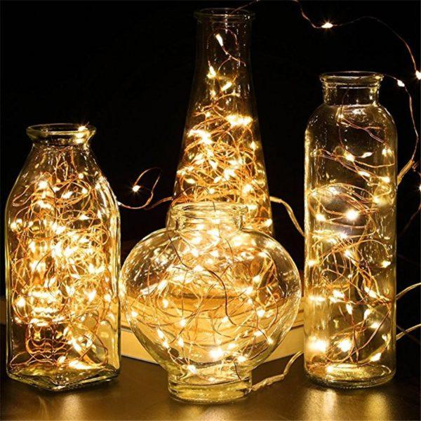 Světelný vánoční řetěz 5metrů