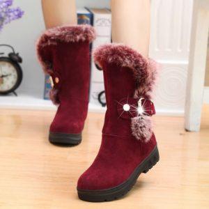 Dámské boty s kožíškem Renata