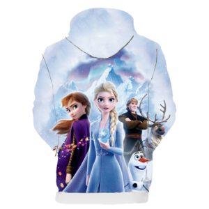 Dívčí mikina s motivy Frozen