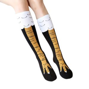 Dámské vtipné ponožky - Kuřecí pařáty